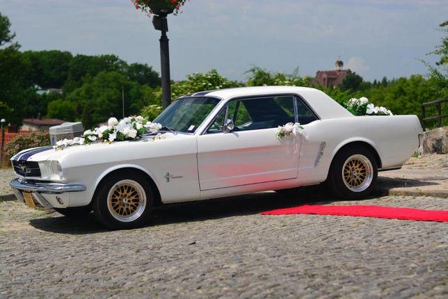 Auto do ślubu na wesele Mustang, Lamborghini, Camaro, Viper, S AMG