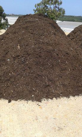 Composto orgânico biológico, residuos florestais, restos de podas