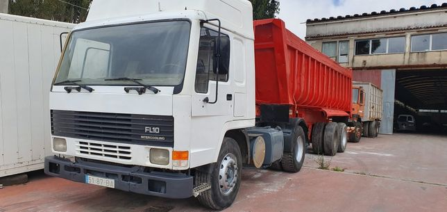 Volvo FL10 Semi reboque molas