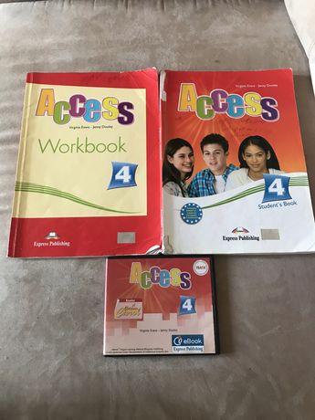 Access 4 тетрадь по английскому