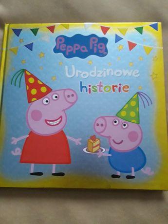Książka Świnka Peppa Urodzinowe historie NOWA