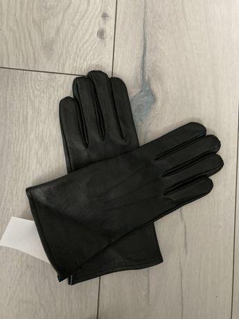 Rękawice skórzane zimowe roz. 23
