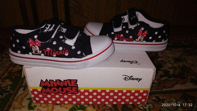 Кеды на девочку Disney Minnie Mouse 29 размера
