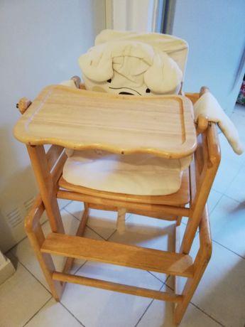 Cadeira de refeição convertivel