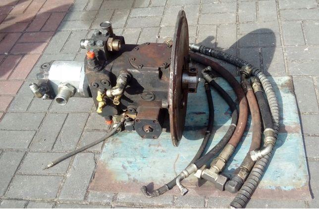 Pompa jazdy Siłownik, rozdzielacz, pompa olejowa wywrotu JCB