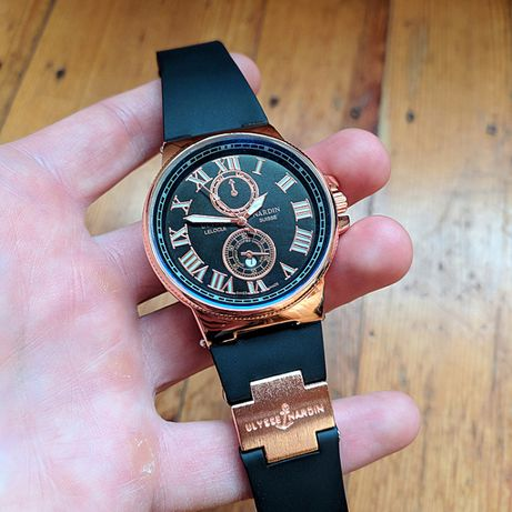 Новые наручные часы Ulysse Nardin Maxi Marine дорогая застежка кварц