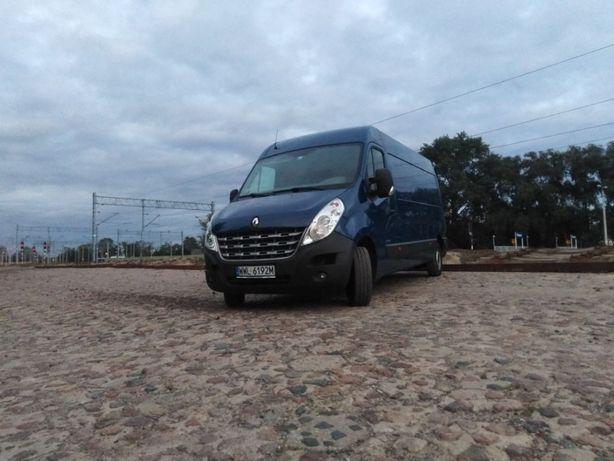 WYNAJEM Dostawczaka , Busa Dostawczego Renault Master DŁUGI!!!