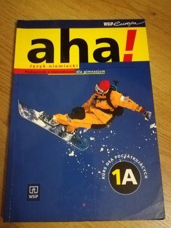 Aha! Język niemiecki podręcznik z ćwiczeniami 1A i 1B