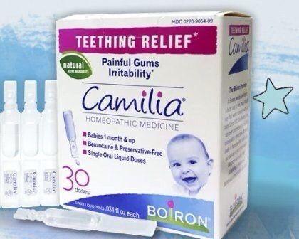 Boiron, Camilia, OSA-гель гомеопатия от боли во время роста зубов