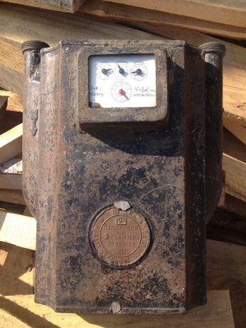 Газовый счетчик,газовая колонка,антиквариат,gasmesser fur flammen 1927
