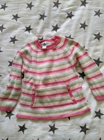 Bluzeczki z długim rękawem 3-4 lat.
