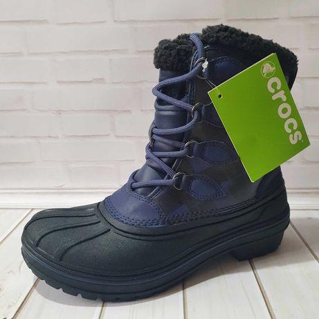 Зимние ботинки Crocs AllCast II Boot Midnight w7 37