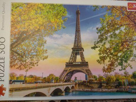 Puzzle wieża Eiffla 500 el.