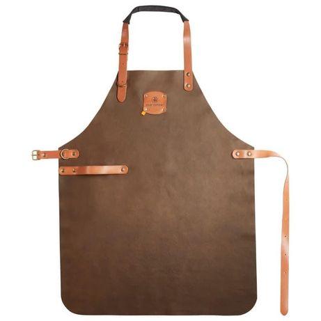 Кожаный фартук, коричневый leather apron brown - кожаный фартук.