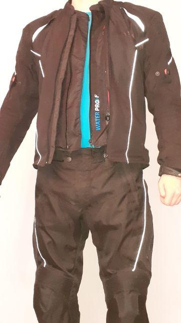komplet Ozone- kurtka i spodnie tekstylne rozmiar M