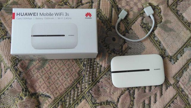 Модем 3G / 4G + Wi-Fi роутер HUAWEI E5576-320 White