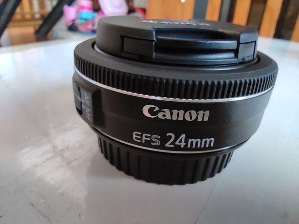 Objetiva Canon 24mm