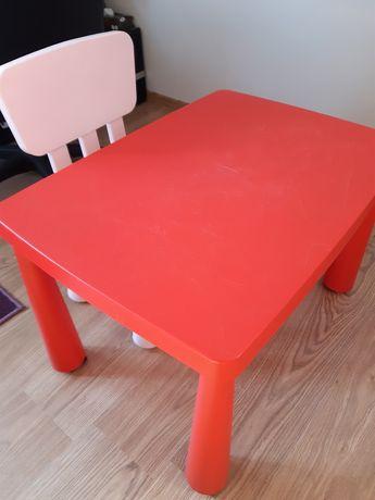 Stolik i krzesełko Ikea mamut
