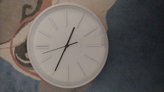 Zegar okrągły biały