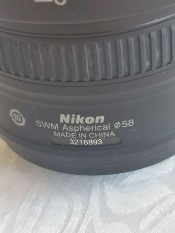 Nikkor 50mm f 1.8