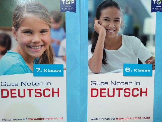 Książka, ćwiczenia do nauczania języka niemieckiego. Zeszyty