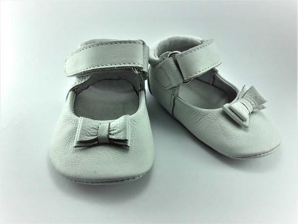 Sapatos Balancê Buckingham Branco
