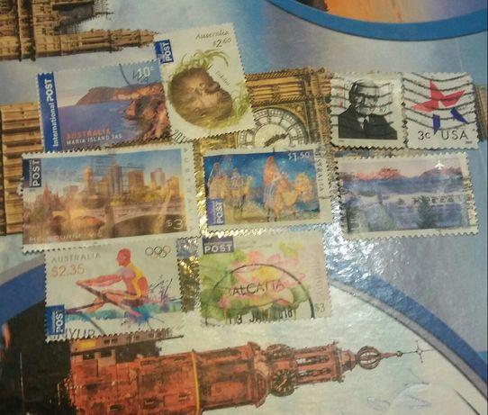 Sprzedam znaczki z Australii i z USA po 5 zł