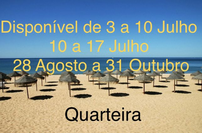 T1 - FERIAS - QUARTEIRA - 50 metros da Praia
