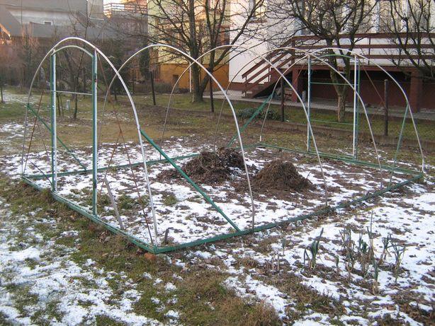 Tunel foliowy ogrodowy stelaż wymiary 4.7/3.5/1.8