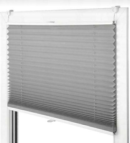 Plisy Rolety okienne bezinwazyjne. Zaciemniające