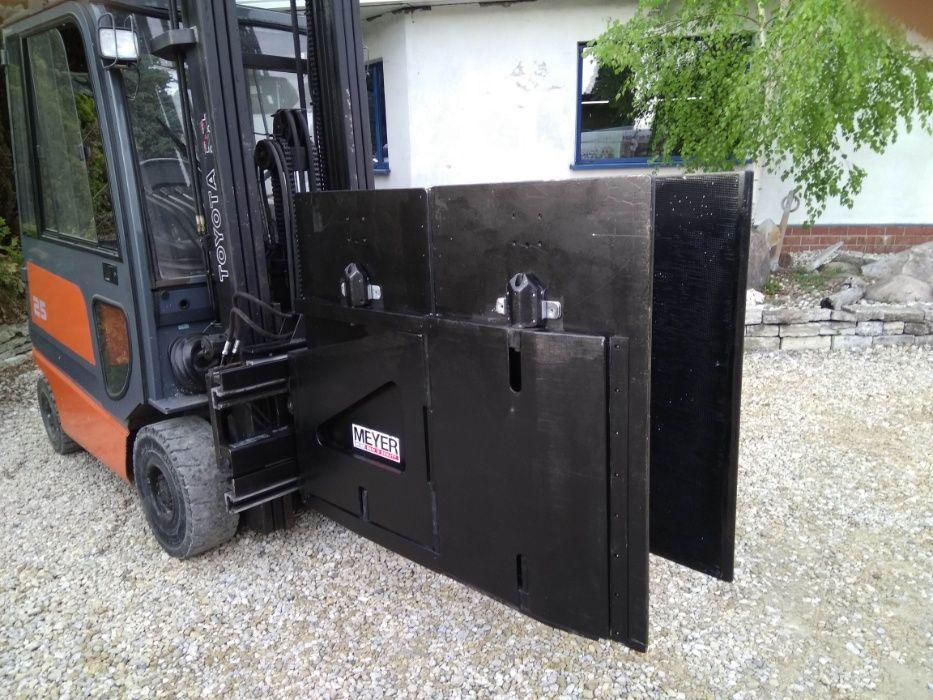 Chwytak ścisk AGD Meyer 1000kg Recykling Makulatura Folia Słoma Styrop