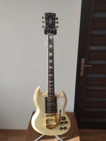 Gitara Harley Benton V7 Series kopia Gibson SG