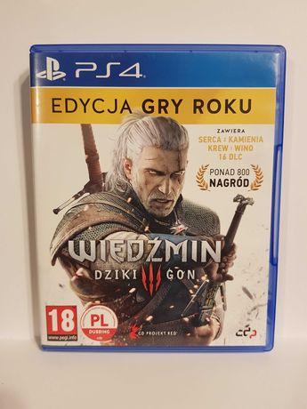 Wiedźmin 3 Dziki Gon PS4 PL