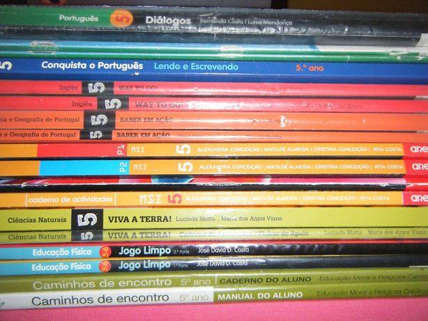 Livros Escolares 5º Ano (Conjunto 2)