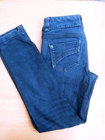 Dżinsy jeansy czarne rurki 34 XS 6 Miss Selfridge