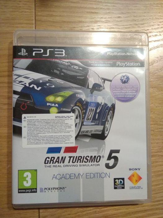 Gra Gran Turismo 5, academy edition, PS3 Kraków - image 1