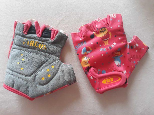 Rękawiczki rowerowe dziecięce rękawice na rower dla dzieci XS 3-6 lat