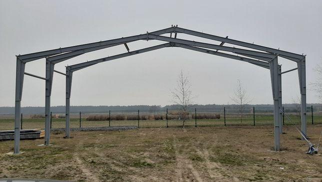 Konstrukcja stalowa hali 10x30 m wysokość 5 m dwuteownik Witkowski