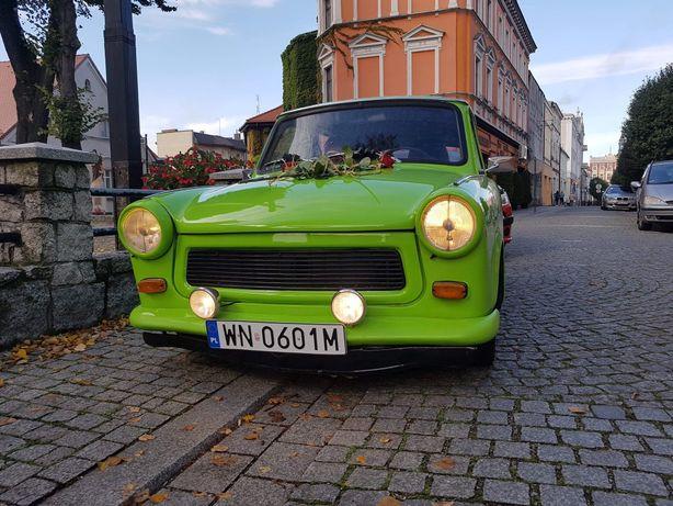 Auto do ślubu wynajem Trabant 1974
