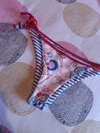Cueca de Bikini reversível