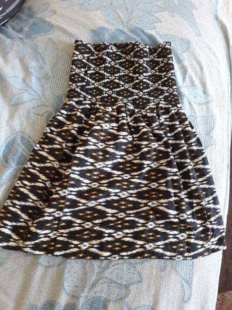 Tunika sukienka na upały