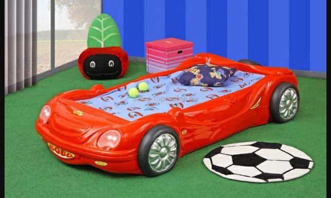 Łóżko samochód dla dziecka BOBO używane stan bdb !