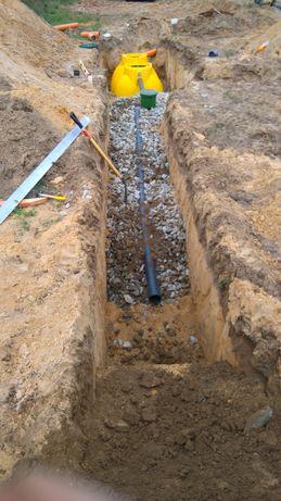ekologiczna przydomowa oczyszczalnia tunelowa drenażowa kanalizacja