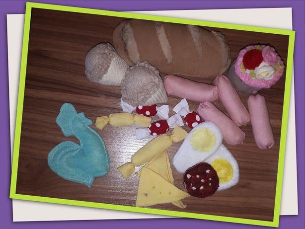 Набор продуктов из ткани