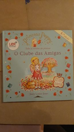 Livros Princesa Poppy