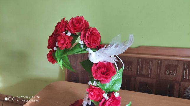 Dekoracja na ślub, prezent