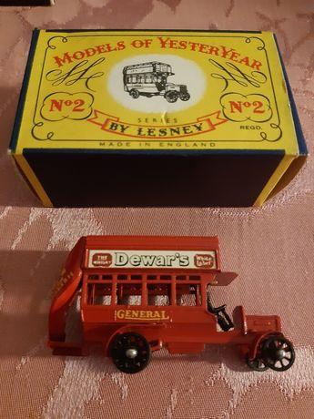 Miniatura Antiga Matchbox London Bus