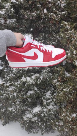 Buty Nike Jordan 1 low Red white 44,5