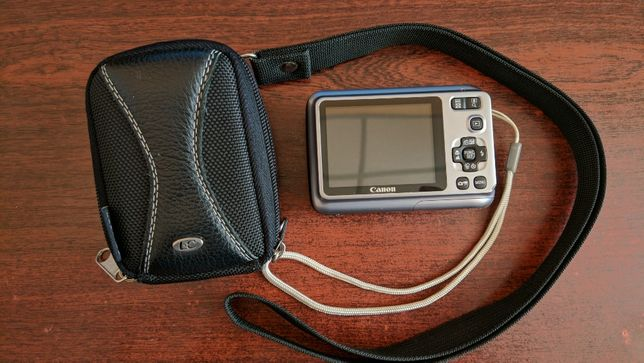 Фотоаппарат Canon PowerShot A490. Чехол в подарок