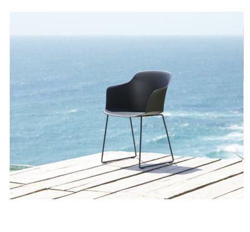 Krzesło metalowe loft 2 szt.